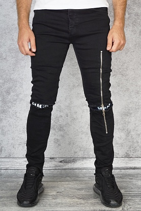 "Джинсы Off-White c/o Virgil Abloh ""Denim Label"""